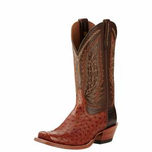 Ariat Super Stakes - Mens -  Brandy/Tobacco