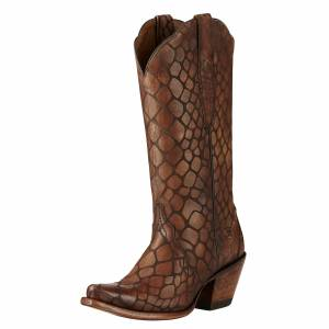 Ariat Antebellum - Ladies - Brown Snake Print