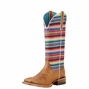 Ariat Gringa - Ladies - Natural Lizard Prnt/Serape