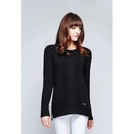 Asmar Boyfriend Sweater with Plaid Elbow Patches - Ladies - Ladies