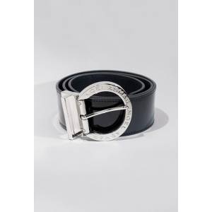 Asmar Signature Leather Belt - Ladies - Chrome Accents