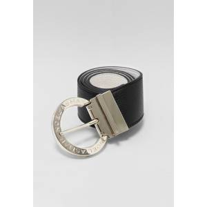 Asmar Signature Leather Belt - Ladies - Gold Accents