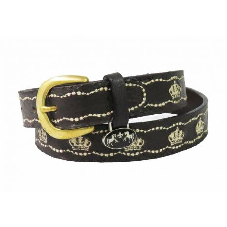 Equine Couture Cacey Leather Belt - Kids