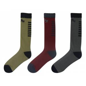 Equine Couture Lance Unisex Socks - 3 Pack