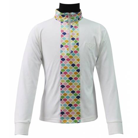 Tuffrider Iris Equicool Riding Shirt - Kids