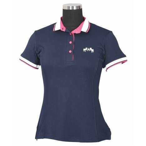 Equine Couture Kirsten Short Sleeve Polo Shirt - Ladies