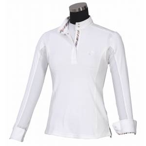 Equine Couture Cara Long Sleeve Show Shirt - Ladies