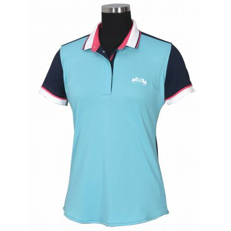 Equine Couture Pearl Short Sleeve Polo Shirt - Ladies