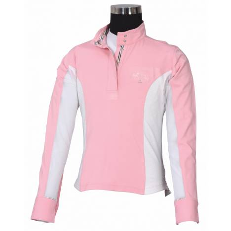 Equine Couture Cara Long Sleeve Show Shirt - Kids