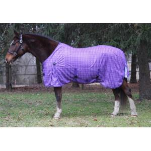 Tuffrider Power Mesh Fly Plaid Sheet