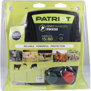 Patriot PMx50 Fence Energizer