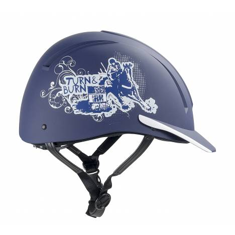 IRH Equi-Pro Turn & Burn Barrel Racer Helmet
