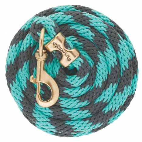 Weaver Poly Lead Rope with Brass Snap
