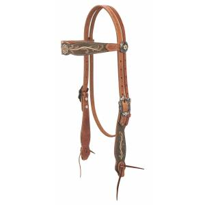 Weaver Country Charm Browband Headstall