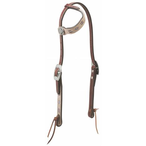 Weaver Winter Star Sliding Ear Headstall
