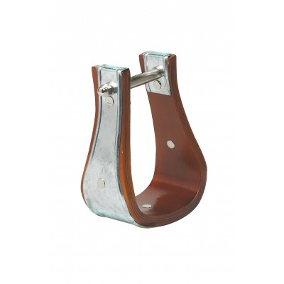 Weaver Sloped Wooden Stirrups with Galvanized Binding