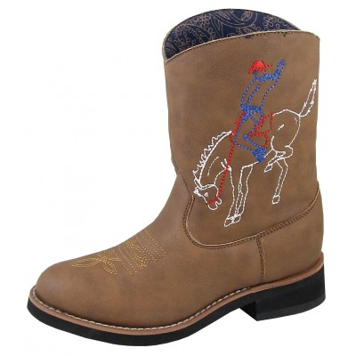 Smoky Mountain Night Horse Boot - Kids - Brown Distress