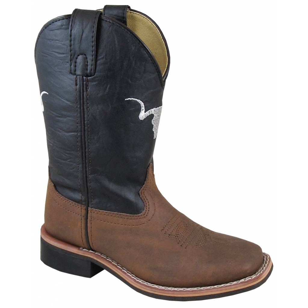 Smoky Mountain The Bull Boot - Youth - Tobacco