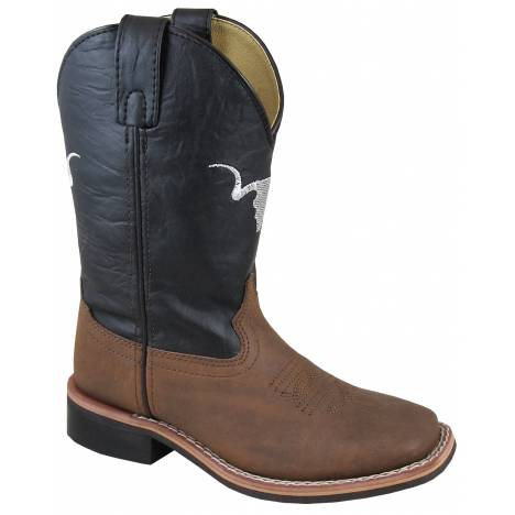 Smoky Mountain The Bull Boot - Kids - Tobacco
