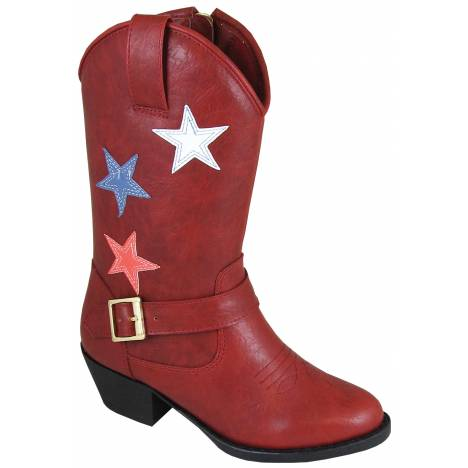 Smoky Mountain Star Bright Boot - Kids - Red
