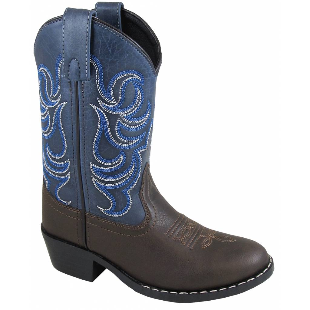 Smoky Mountain Monterey Boot - Kids - Brown/Blue