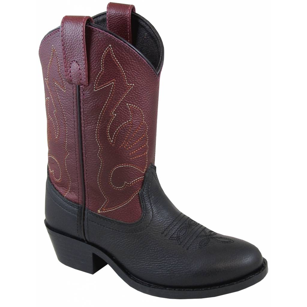 Smoky Mountain Sisco Boot - Kids - Black/Plum