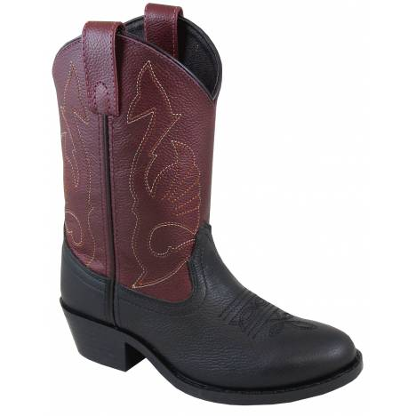 Smoky Mountain Sisco Boot - Youth - Black/Plum