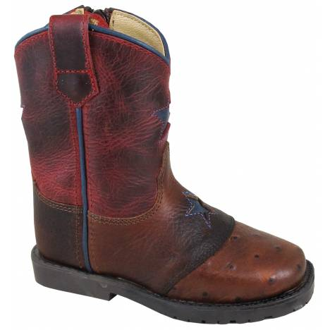 Smoky Mountain Autry Boot - Toddler - Red Crackle