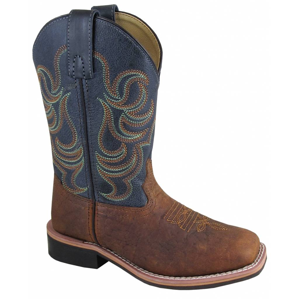 Smoky Mountain Jesse Boot - Youth - Brown/Black
