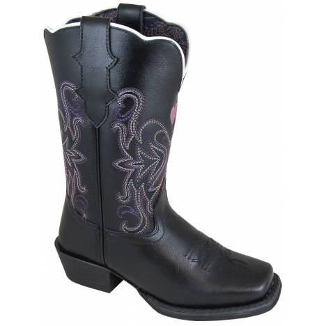 Smoky Mountain Rockin Heart Boot - Kids - Black