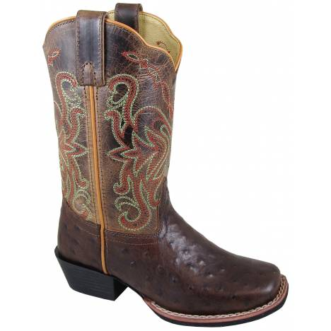 Smoky Mountain Belle Boot - Youth -Tobacco/Brown Crackle