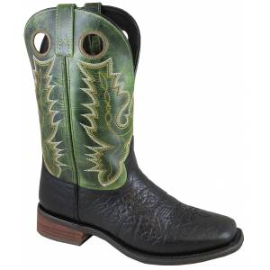 Smoky Mountain Mens Timber Boot - Mens - Black/Green