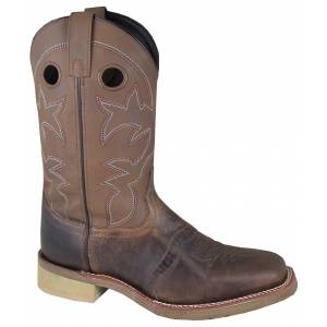 Smoky Mountain Landon Boot - Mens - Brown Oil Distress