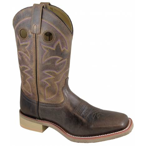 Smoky Mountain Parker Boot - Mens - Brown/Brown Crackle