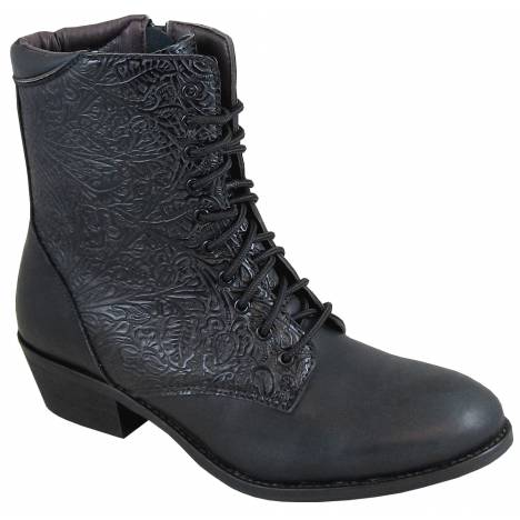 Smoky Mountain Lacer Boot - Ladies - Black