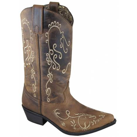 Smoky Mountain Jolene Boot - Ladies - Brown White