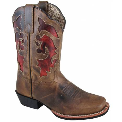 Smoky Mountain Caire Boot - Ladies - Brown Waxed