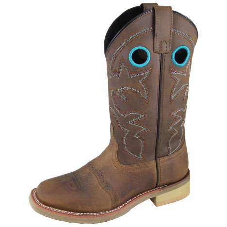 Smoky Mountain Hayden Boot - Ladies - Brown Oil Distress