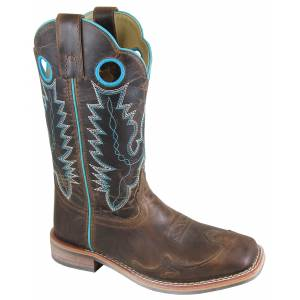 Smoky Mountain Marianna Boot - Ladies - Brown Waxed Distress
