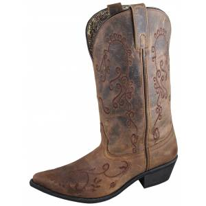 Smoky Mountain Jolene Boot - Ladies - Brown/Brown