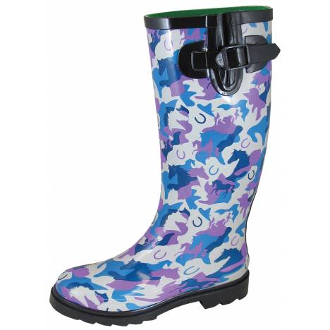 Smoky Mountain East Ridge Boot - Ladies - Blue Pink Camo