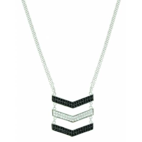 Montana Silver Chevron Suspension Necklace