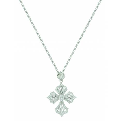 Montana Silver Dazzling Filigree Cross Necklace