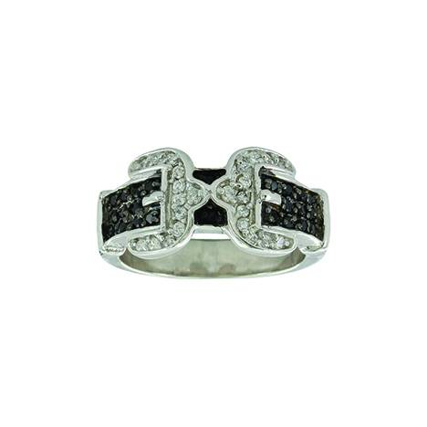 Montana Silver Double Buckle Ring