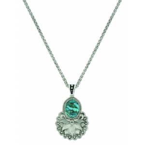 Montana Silver Holding onto Nature Turquoise Necklace