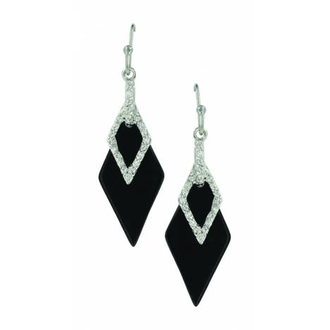 Montana Silver Midnight Double Diamond Earrings
