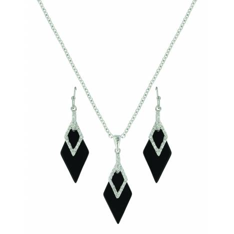 Montana Silver Midnight Double Diamond Jewelry Set