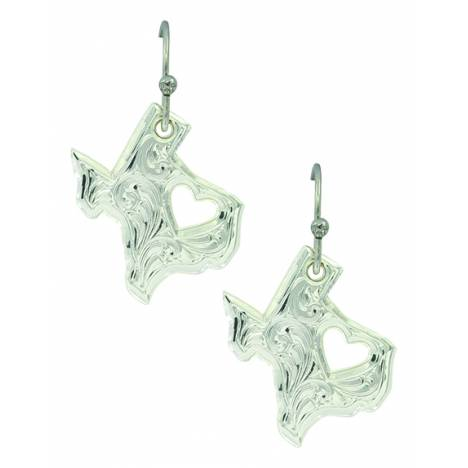 Montana Silver My Heart Belongs in Texas Earrings