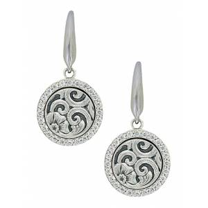 Montana Silver Secret Garden French Hook Earrings