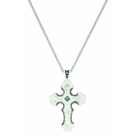 Montana Silver Silhouette Cross Necklace